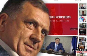"""Dodik i SNSD krenuli u marketinšku kampanju """"mirnog razlaza"""". Youtube zatrpan reklamama"""