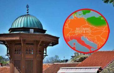 ACCUWEATHER OBJAVIO PROGNOZU ZA LJETO: Na području srednje Evrope i Balkana…