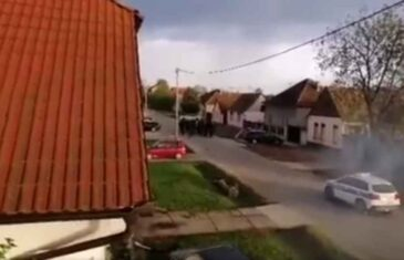 """NAKON SRAMOTNOG SKANDIRANJA """"UBIJ SRBINA"""" U BOROVU: Uhapšeno 14 osoba…"""