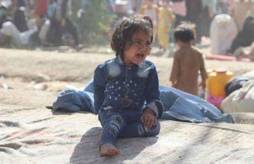MOŽE LI GORE: Potresan izvještaj iz UNICEF-a, najmanje milion afganistanske djece…