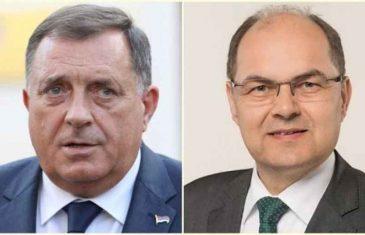 """SCHMIDT JE NA POTEZU: """"Činjenica da Milorad Dodik svakodnevno krši izjavu kojom je prisegnuo na Ustav Bosne i Hercegovine, znači da postoje pravni uvjeti za…"""