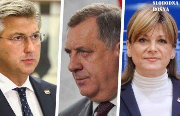 """SABORSKA ZASTUPNICA KAROLINA VIDOVIĆ-KRIŠTO RASPALILA PO PLENKOVIĆU, SPOMINJALA I SREBRENICU : """"Tamo su bili Milorad Dodik i Joanikije i…"""