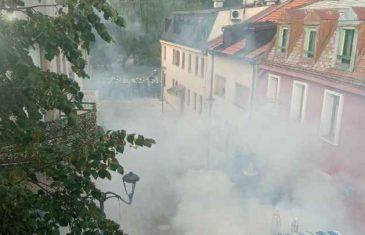 Objavljen snimak sukoba policije i demonstranata, uhapšen savjetnik predsjednika