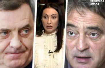 DRUŠTVENE MREŽE GORE: Panična reakcija Gorice Dodik, nakon najave Željka Komšića da će podnijeti krivičnu prijavu protiv njezinog oca…