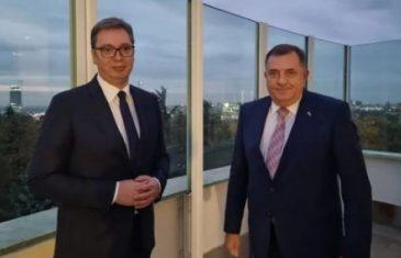 Vučić i Dodik se boje sankcija, traže nagradu za smirivanje tenzija koje su izazvali